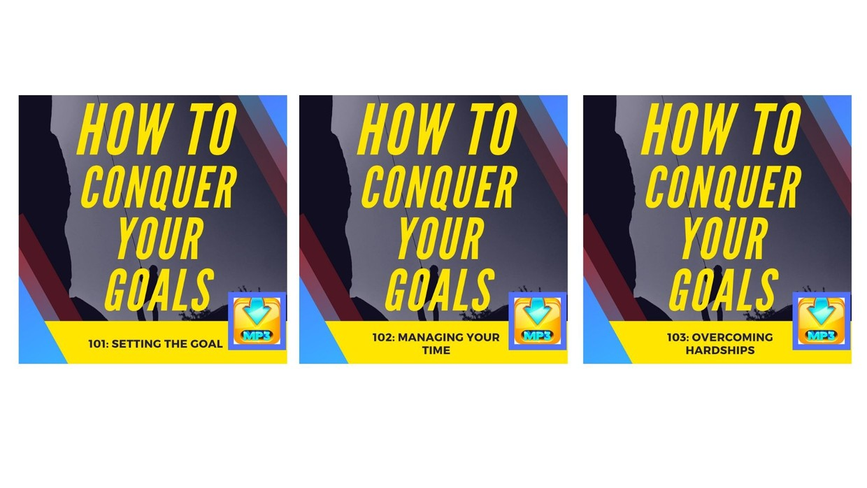 How to conquer your goals Masterclass AUDIO MP3