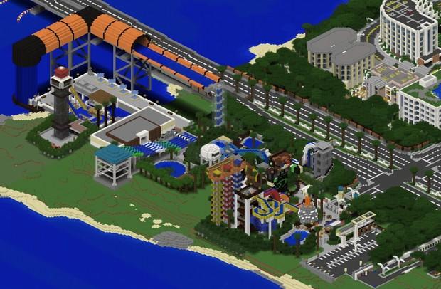 TheTekkitRealm Minecraft Theme Park Remake