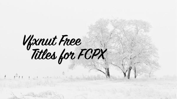 Vfxnut Free Titles