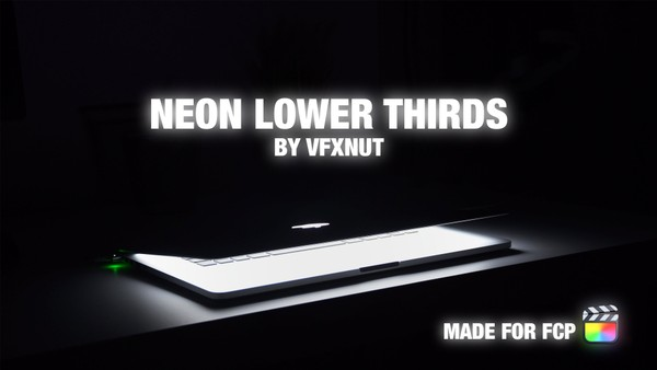 Neon Lower Thirds