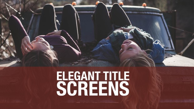 Elegant Title Screens for FCPX