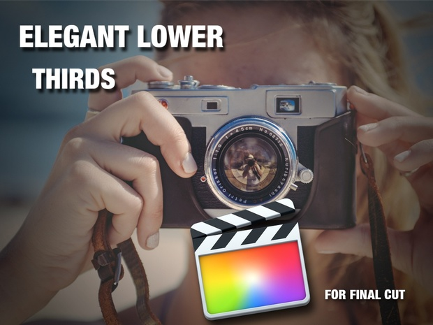 Elegant lower thirds for Final Cut Pro X
