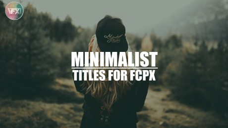 Minimalist Titles For FCPX