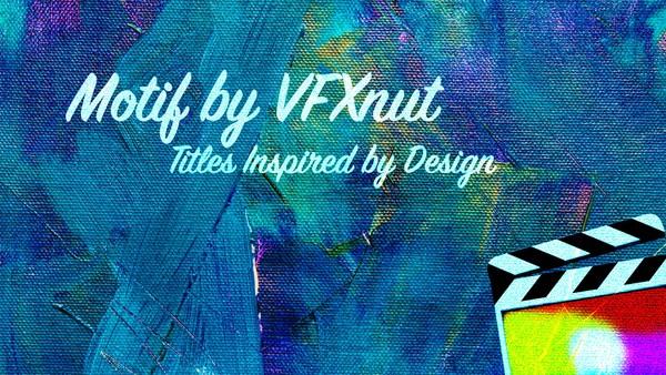 """""""Motif"""" Designer Titles for FCPX"""