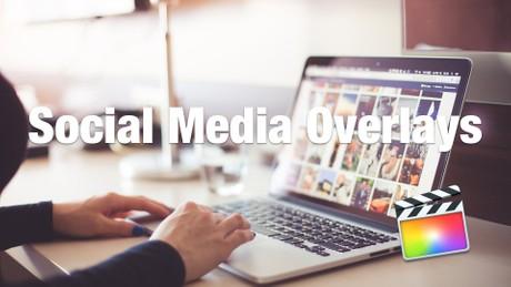 Social Media Overlays for FCPX