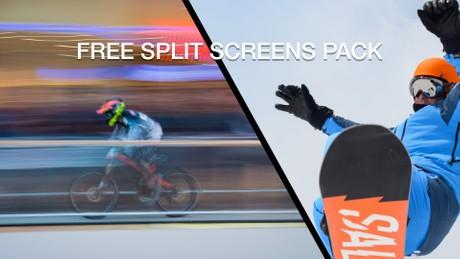 Free split screens