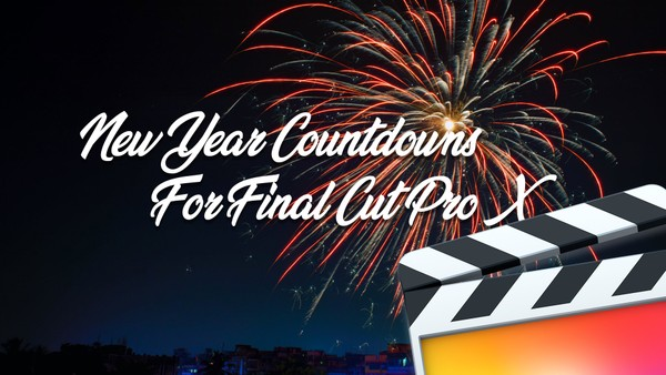 New Year Countdown Packs For FCPX