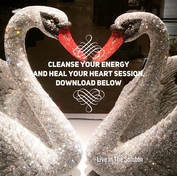Cleanse your energy and Heal your Heart