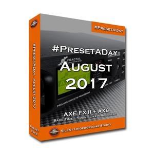 #PresetADay - AUGUST  2017 (FAS)