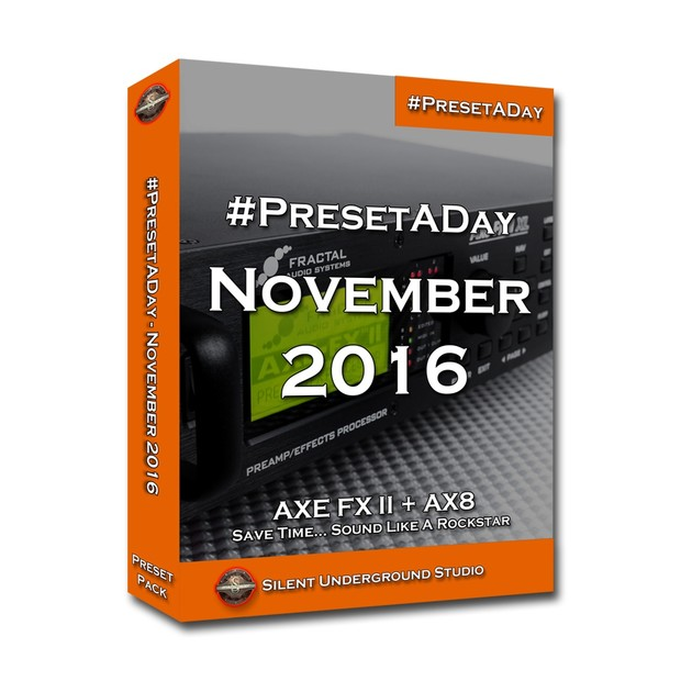 #PresetADay - NOVEMBER 2016  (FAS)