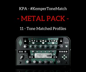 Kemper - Various Metal Profiles (KPA)