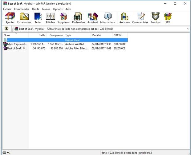 SoaR Myol (Project File + Clips&Cines)