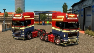 Mathiesen SkinPack for RJL (Streamline & R2)