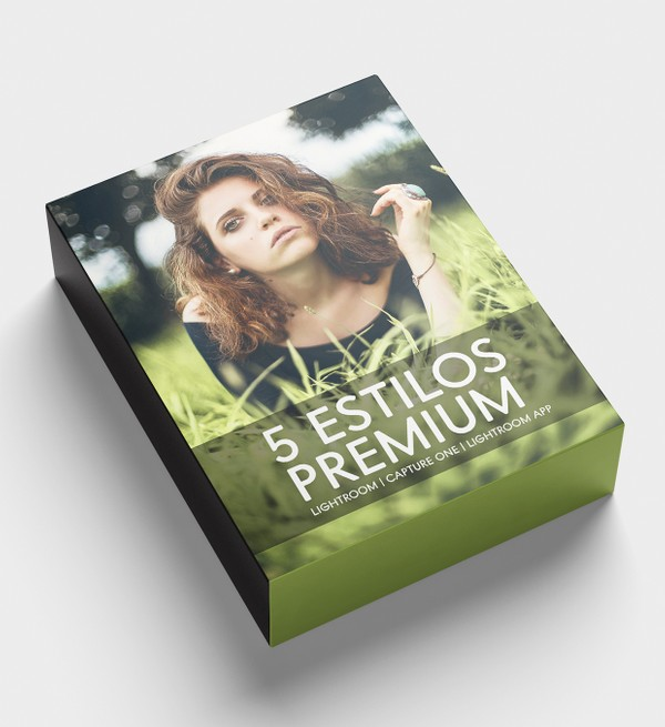 5 ESTILOS PREMIUM PACK (Lightroom, Capture One, Lightroom app)