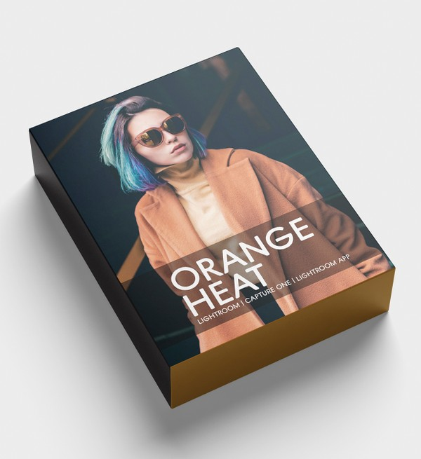 Estilo ORANGE HEAT  (Lightroom, Capture One, Lightroom app)
