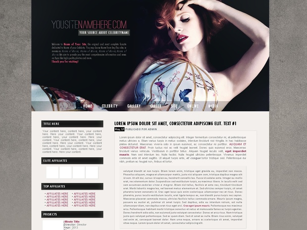 FREE Wordpress premade #4
