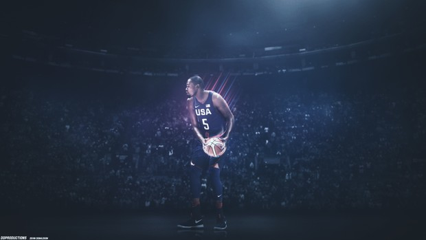 Kevin Durant USA PSD