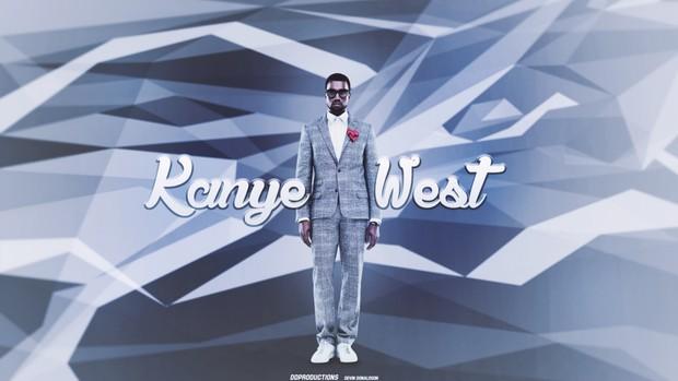 Kanye West PSD