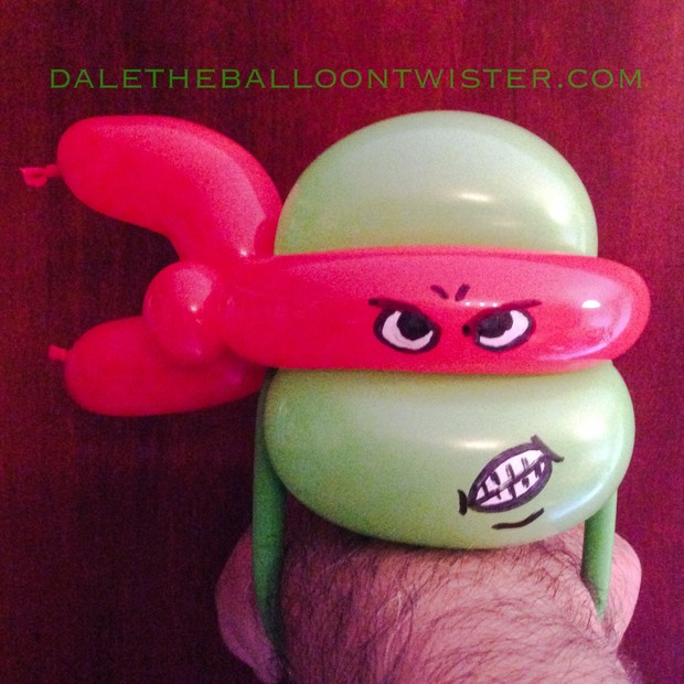 Simple Ninja Turtle Head Bracelet