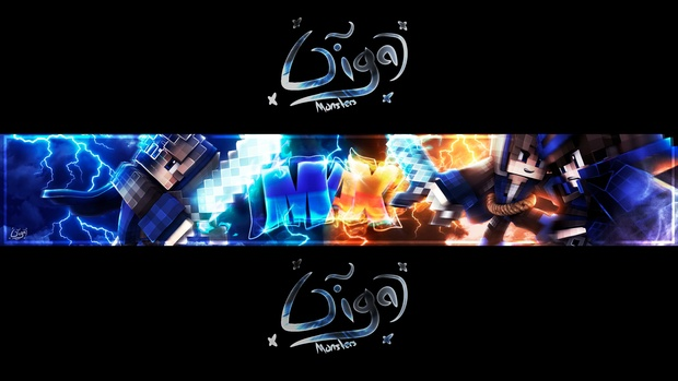 Minecraft PROFESSIONAL BANNER+Profile Picture