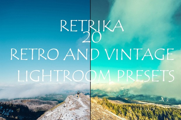 Retro and vintage lightroom presets