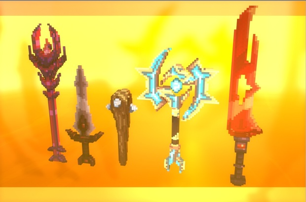 [ Minecraft ] Pack de 36 Armes 3D - Warlords !