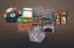 [ Pack ] All Blocks & Items 3D ! V1