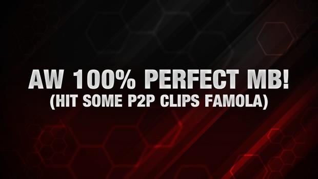 AW 100% Perfect Match Bonus!
