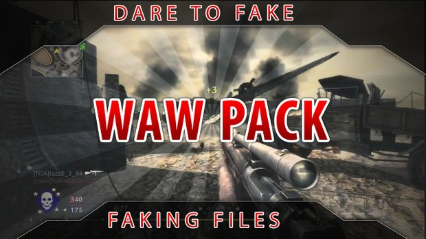 World At War Faking Pack