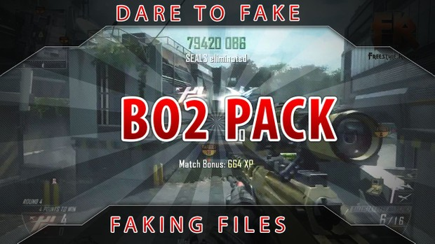 Black Ops 2 Faking Pack