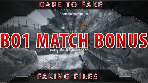 BO1 Match Bonus + Popup