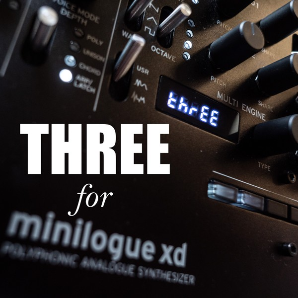 THREE for Minilogue XD