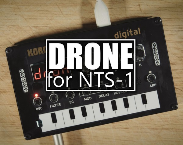DRONE User Oscillator for Korg NTS-1, Minilogue XD and Prologue