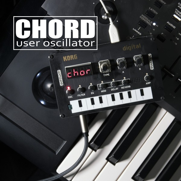 CHORD User Oscillator for Korg NTS-1, Minilogue XD and Prologue