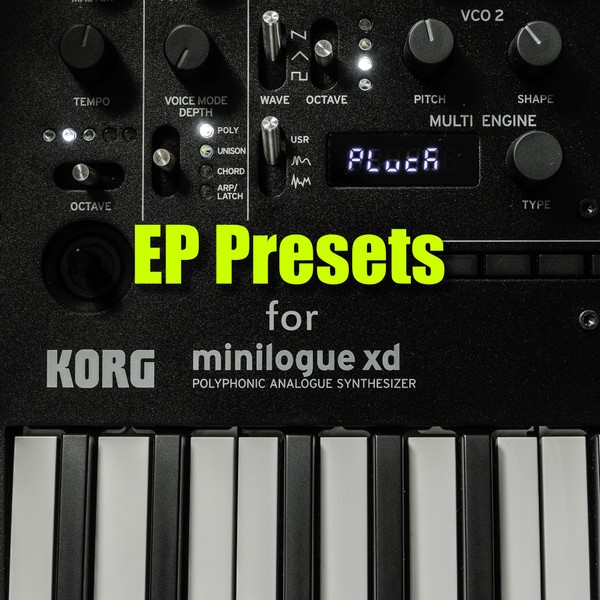 EP Presets for Minilogue XD
