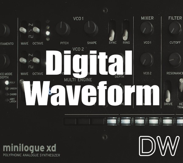 DIGITAL WAVEFORM User Oscillator for Minilogue XD, Prologue and NTS-1