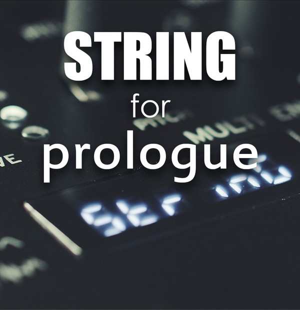 String for Prologue