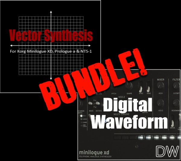 VECTOR SYNTHESIS + DIGITAL WAVEFORM User Oscillator Bundle