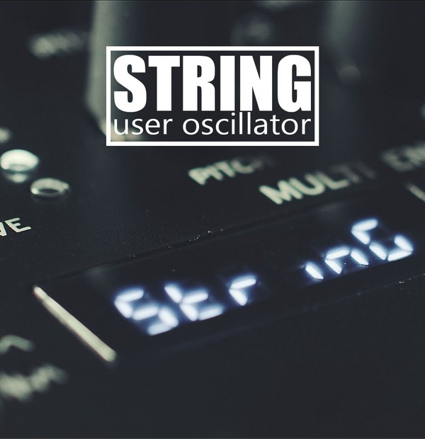 STRING User Oscillator for Korg Minilogue XD, Prologue and NTS-1