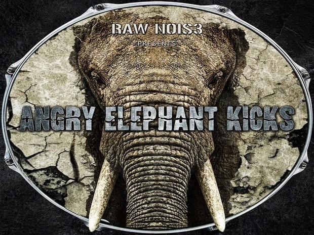 Angry Elephant Kicks