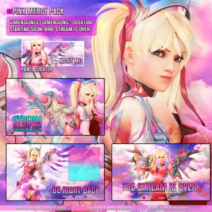 PINK MERCY PACK STREAM