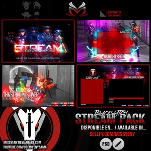 Stream Pack | Blackwatch from Overwatch