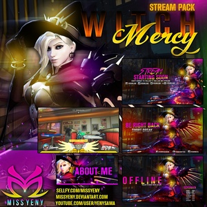 OVERWATCH WITCH MERCY - Stream Pack