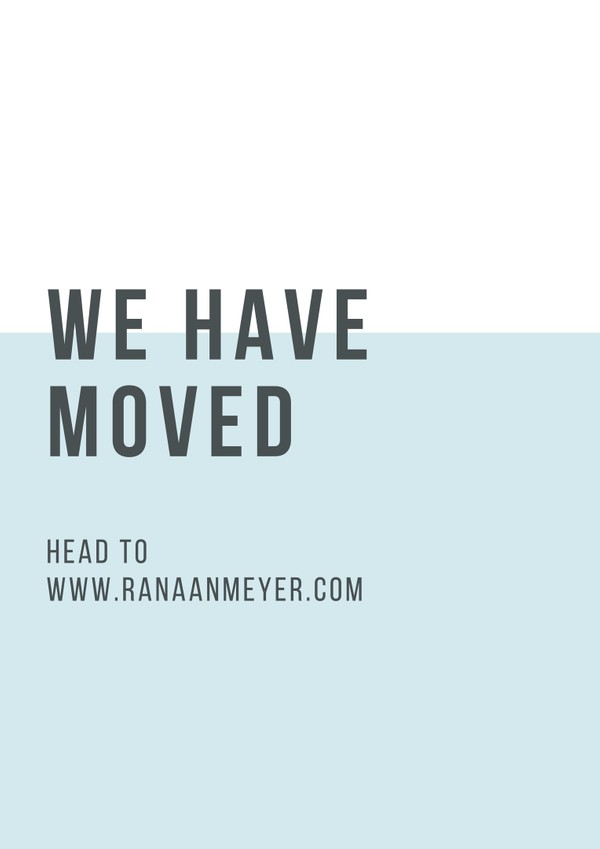 WE HAVE MOVED!!!!