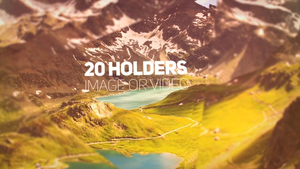 Cinematic Parallax Media Opener - After Effects Template