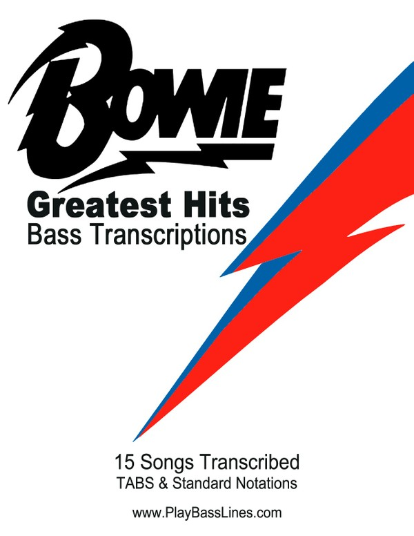 Bowie - Greatest Hits Bass Transcriptions