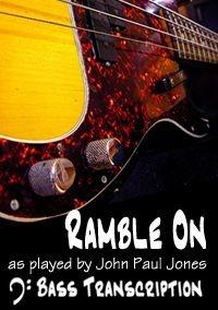 Ramble On - Led Zeppelin (Bass: John Paul Jones)