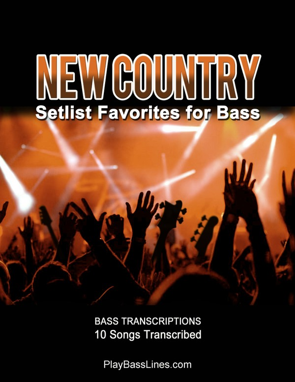 New Country - Setlist Favorites for Bass