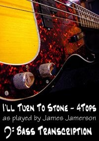 I'll Turn To Stone - The FourTops (Bass: James Jamerson)