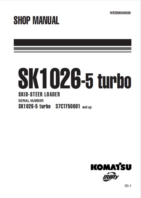 Kobelco SK15MSR, SK16MSR Hydraulic Excavator Shop Manu